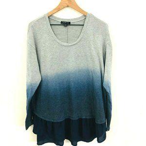 Lane Bryant Ombre Ruffle Sweater 14/16